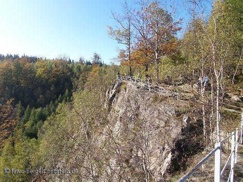 Blick übers Erzgebirge